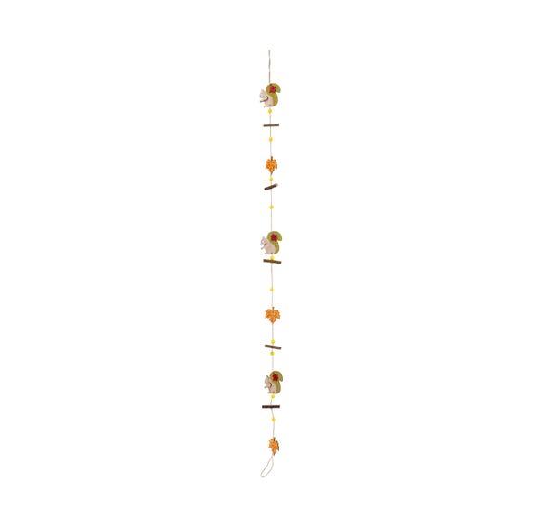 Deko-Girlande mit süßen Tieren, ca. 120cm