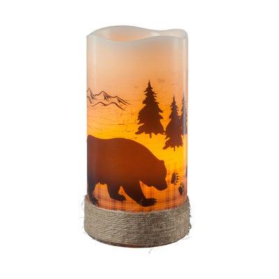 LED-Kerze in verschiedenen Designs, ca. 8x15cm