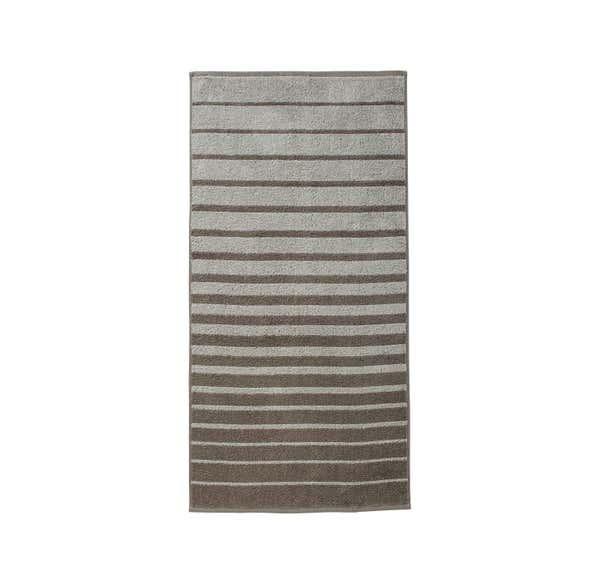 Handtuch mit trendigen Streifen, 50x100cm