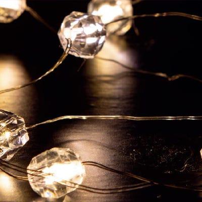 LED-Lichterkette in verschiedenen Variationen, ca. 120cm