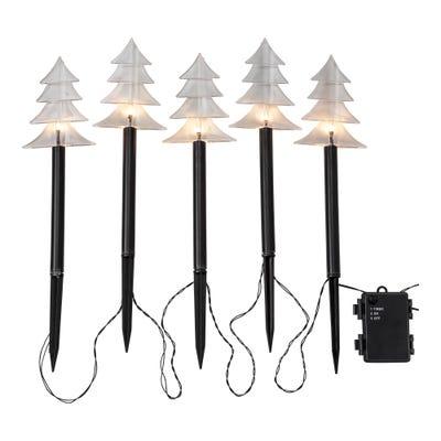 LED-Leuchtstäbe mit verschiedenen Spitzen, ca. 35cm, 5-teilig