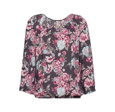 Damen-Bluse mit modischem Muster