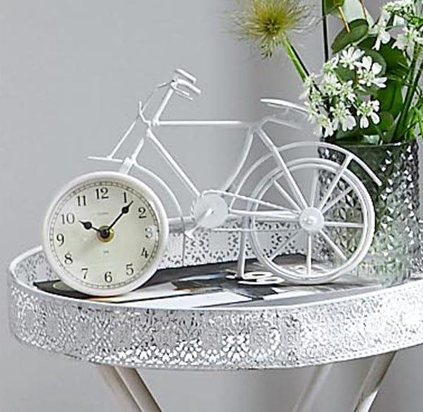 Uhr-Fahrrad in außergewöhnlicher Optik, ca. 29x9x19cm