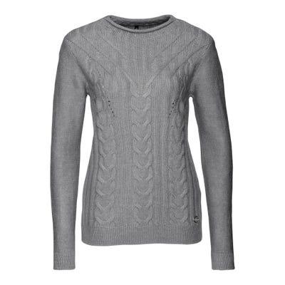Damen-Pullover mit hübschem Strickmuster