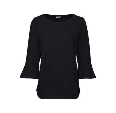 Damen-Shirt mit ausgestellten Ärmeln