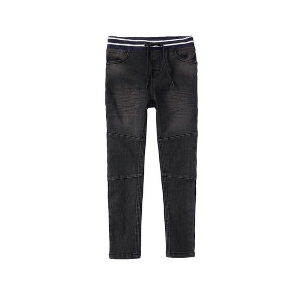 Jungen-Jeans mit gestreiftem Bund
