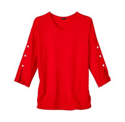 Damen-Shirt mit schicken Fledermausärmeln