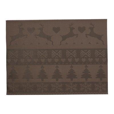 Platz-Set mit Weihnachtsdesign, 30x45cm