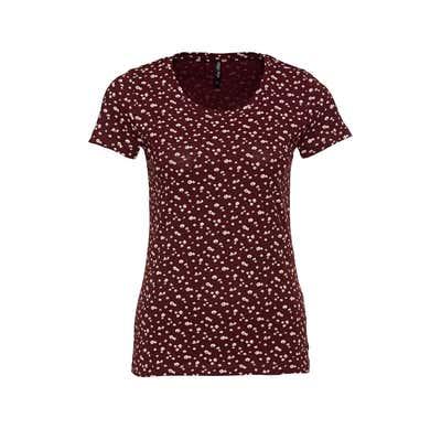 Damen-T-Shirt mit spannendem Muster