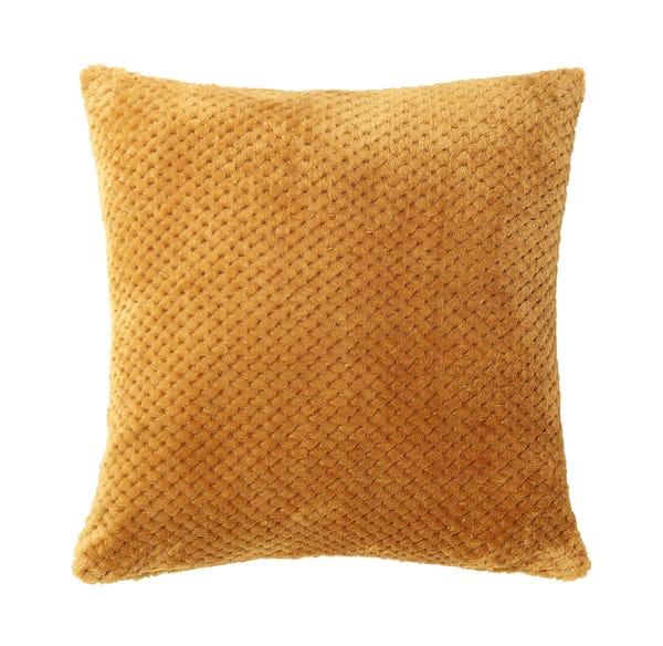 Dekokissen mit Popcorn-Struktur, ca. 45x45cm