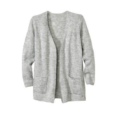 Damen-Strickjacke in modischer Woll-Optik