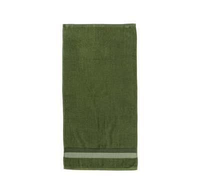 Handtuch mit Kontrast-Bordüre, 50x100cm