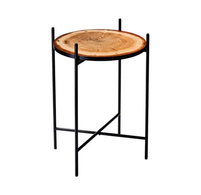 Beistelltisch in toller Holz-Optik, ca. 42x60cm
