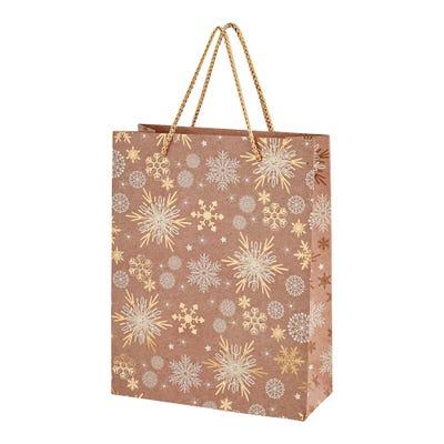 Geschenktüte mit Weihnachtsdesign, ca. 19x8x2cm