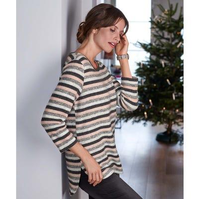 Damen-Sweatshirt mit Viskose