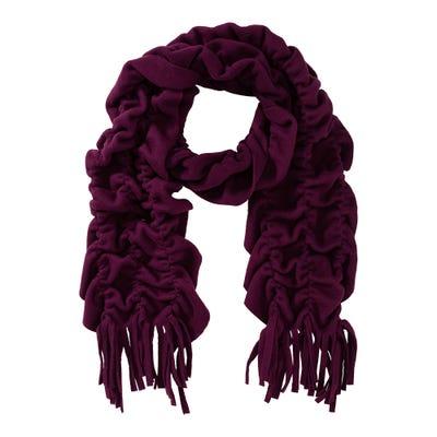 Damen-Schal mit modischer Raffung
