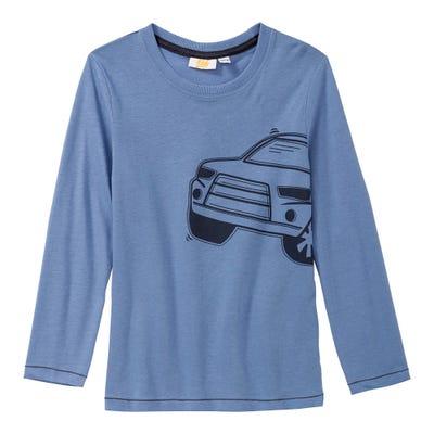Jungen-Shirt mit Auto-Aufdruck