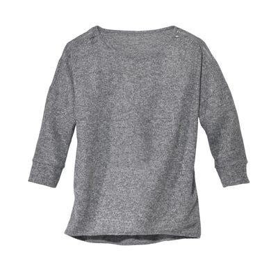 Damen-Pullover mit Reißverschluss an der Schulter