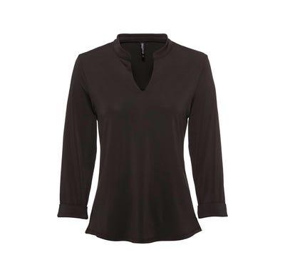 Damen-Bluse mit hübschem Ausschnitt