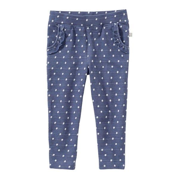 Baby-Mädchen-Hose mit Punkte-Muster