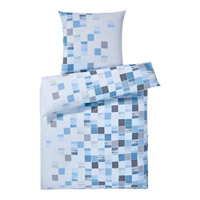Biber-Bettwäsche mit trendigen Karos