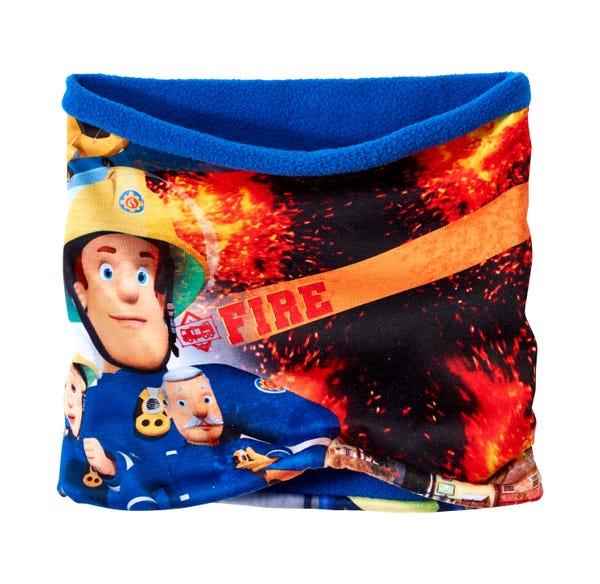 Kinder-Loop-Schal mit beliebten Motiven