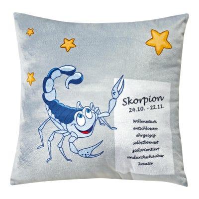 Dekokissen in verschiedenen Sternzeichen-Designs, ca. 35x35cm
