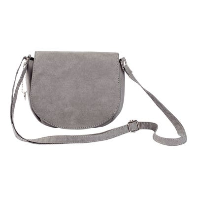 Damen-Handtasche in Wildleder-Optik