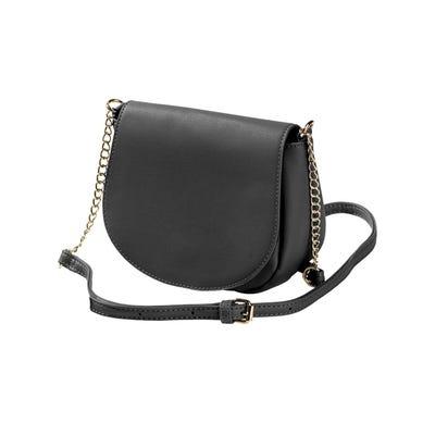 Damen-Handtasche mit Zierkettchen, ca. 18x15x8cm