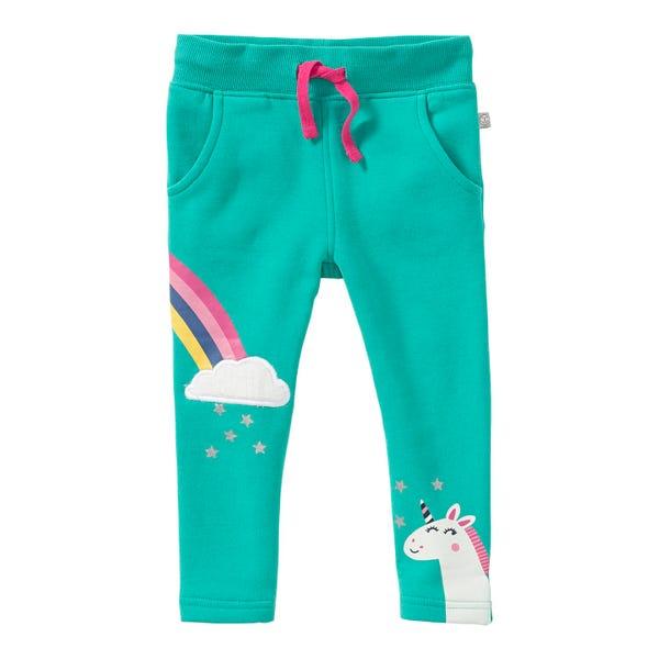 Baby-Mädchen-Jogginghose mit Regenbogen-Aufdruck