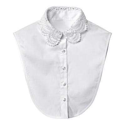 Damen-Blusenkragen mit schöner Spitze