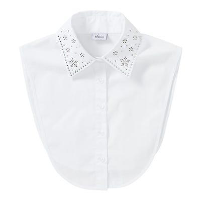Damen-Blusenkragen mit Strasssteinchen
