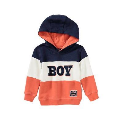 Baby-Jungen-Kapuzenpullover mit Streifen
