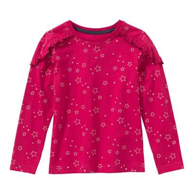 Mädchen-Shirt mit Sternenmuster