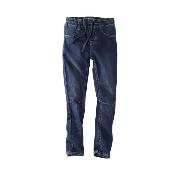 Kinder-Jungen-Stretch-Jeans mit elastischem Bund