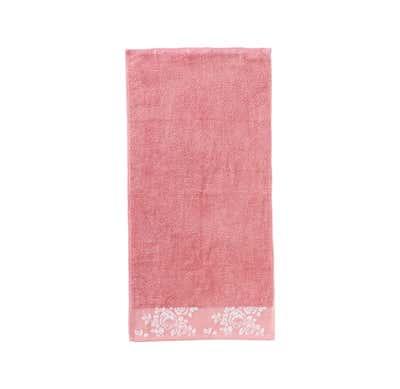 Handtuch mit Rosen-Bordüre, 50x100cm