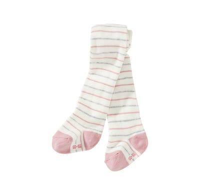 Baby-Mädchen-Strumpfhose mit Ringelmuster