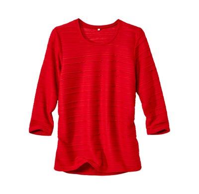 Damen-Shirt mit trendiger Struktur
