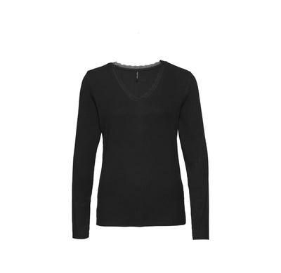 Damen-Shirt mit Ripp-Struktur