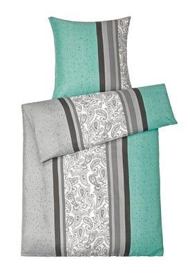 Mikrofaser-Flanell-Bettwäsche mit modernen Ornamenten