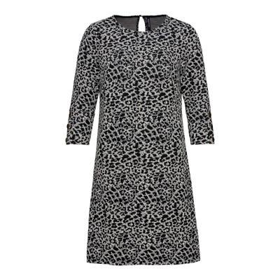 Damen-Kleid mit Leoparden-Muster