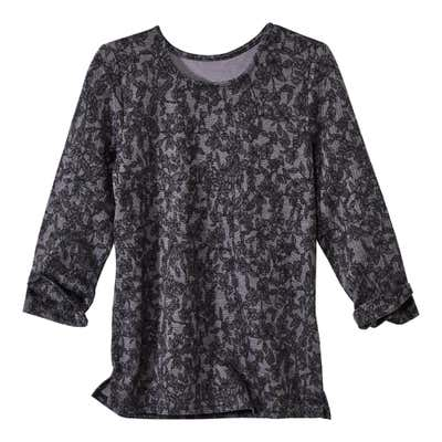 Damen-Shirt mit 3/4-Arm