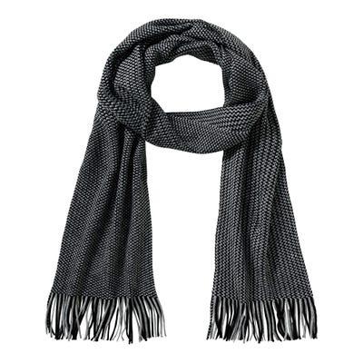 Herren-Schal mit schicken Fransen