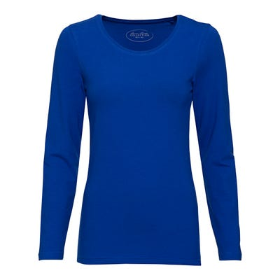 Damen-Shirt mit hohem Baumwoll-Anteil