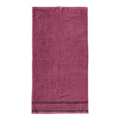 Handtuch mit hübscher Bordüre, 50x100cm
