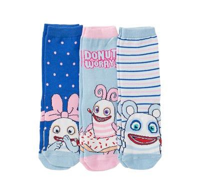 Sorgenfresser Kinder-Socken, 3er Pack