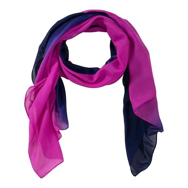 Damen-Schal mit modischem Farbverlauf