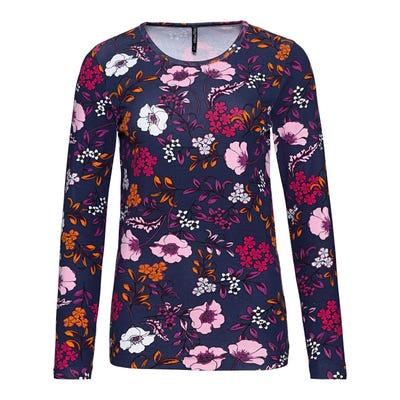 Damen-Shirt mit Blumenmuster