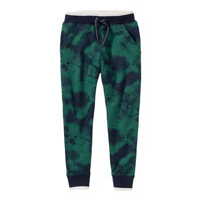 Jungen-Jogginghose mit Farbspritzer-Muster