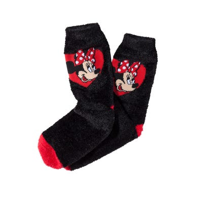 Minnie Mouse Damen-Kuschelsocken